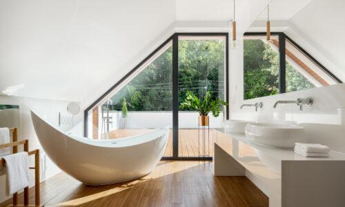 Artprojekt Interior Design- Minimalist Bathrooms